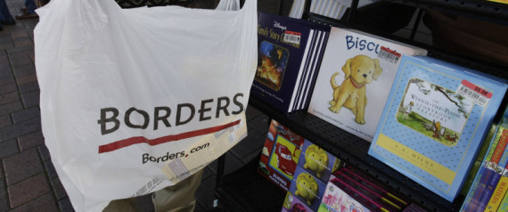 BORDERS BANKRUPTCY HURTS BARNES NOBLE