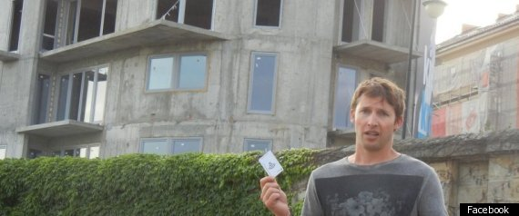 James Blunt Near Auschwitz