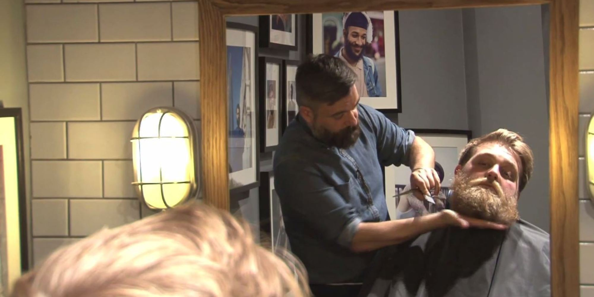Barber Beard Trim : Watch: How To Trim Your Own Beard At Home If Youre Growing It Out ...