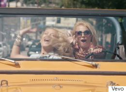 Britney And Iggy's New Video Is, Like, TOTALLY Out There
