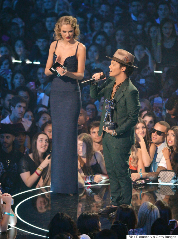 taylor swift bruno mars