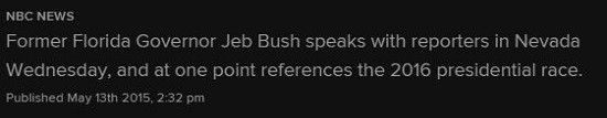 jeb bush deck