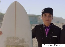 Hot Surfers To Tell You To Buckle Your Seatbelt In Air New Zealand's New Safety Video