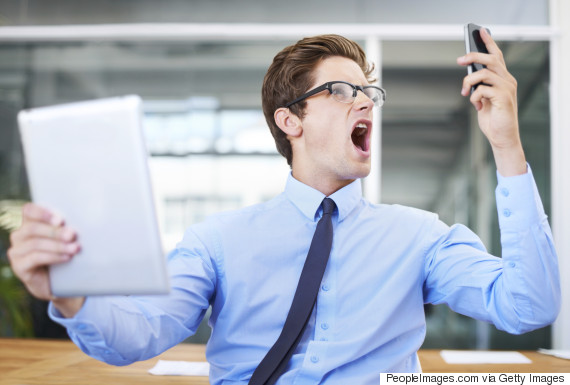 gadget frustration