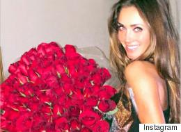 Así festeja Anahí su primer cumpleaños casada