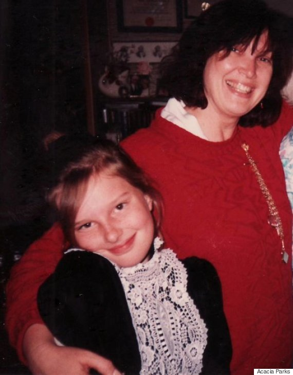 acacia parks and her mother