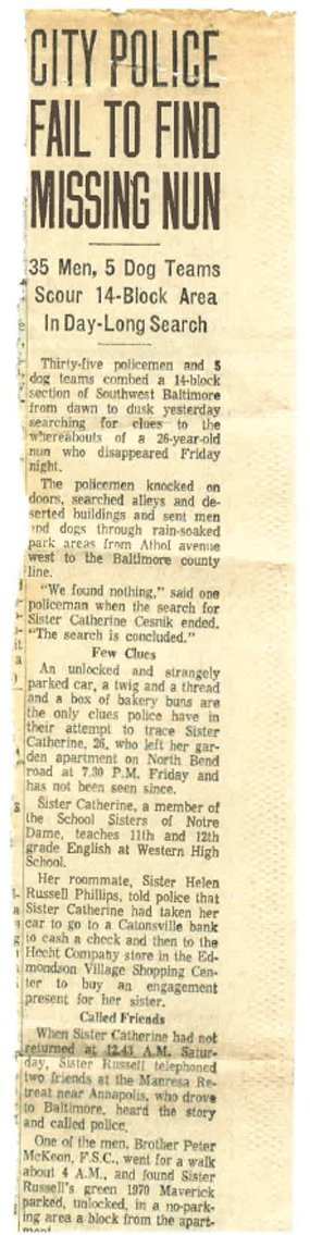 Baltimore Sun article