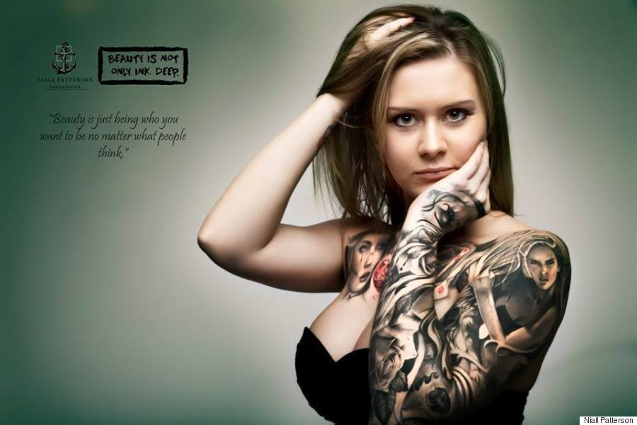 beauty is not only ink deep