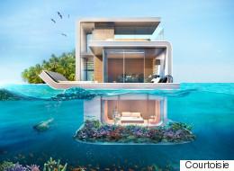 La maison à moitié sous l'eau est devenue réalité (PHOTOS)