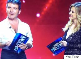 Simon Cowell Suffers Live TV Blunder In Italy