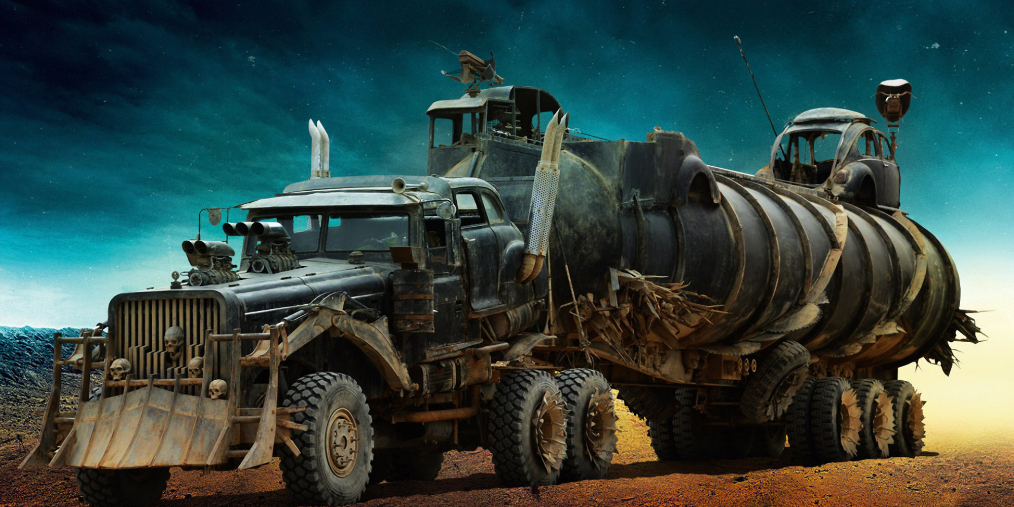 these mad max fury road monster motors will blow your mind huffpost uk. Black Bedroom Furniture Sets. Home Design Ideas