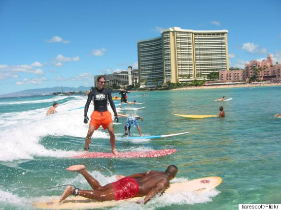 23 Photos That Sum Up Waikiki Perfectly | HuffPost