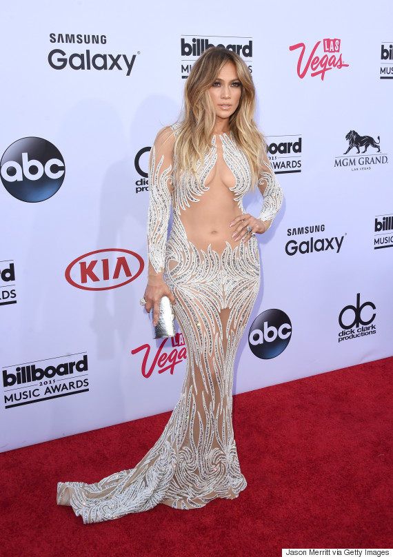 jennifer lopez billboard music awards dress