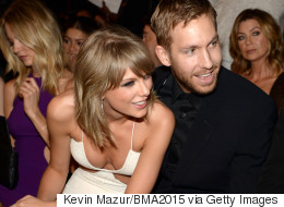 Taylor And Calvin Cosy Up At Billboard Awards