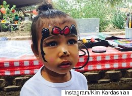 Kim Kardashian's Daughter North West Makes An Adorable Minnie Mouse
