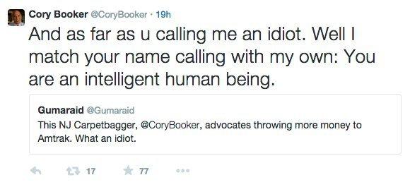 cory booker twitter 1