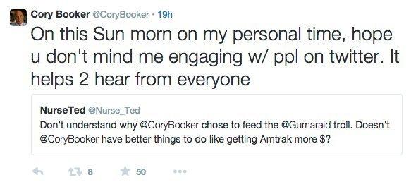 cory booker twitter 2