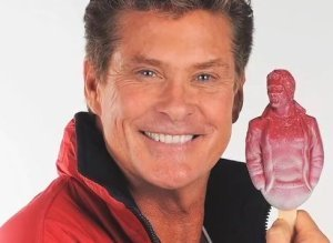 David Hasselhoff Hoffsicle