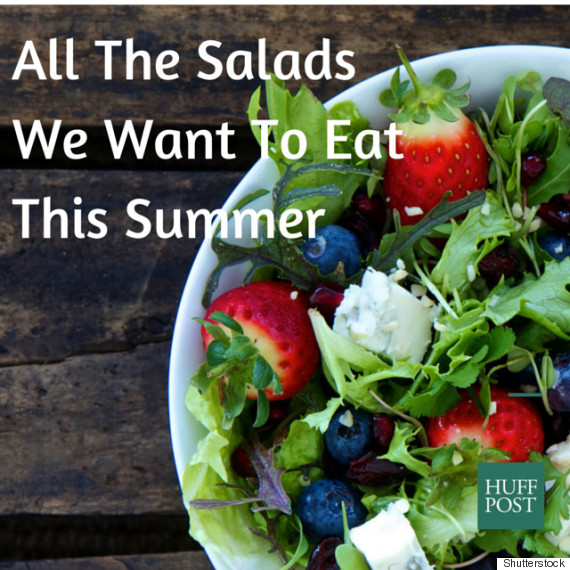 summer salad canva