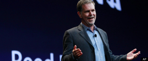 NETFLIX CEO FACEBOOK REED HASTINGS BOARD OF DIRECT