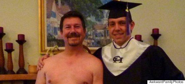 Painfully Awkward Graduation Photos