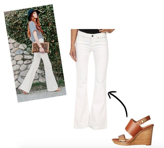 polyvore flare