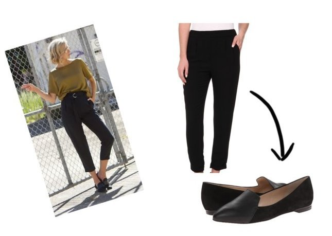 polyvore cropped pant