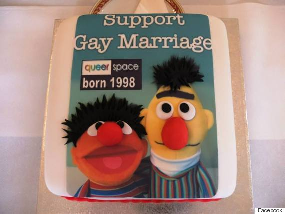 gay marriage cake
