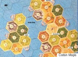 Attention UK Board Game Nerds! Someone Made A Playable Catan Map Of The British Isles
