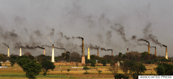 india pollution