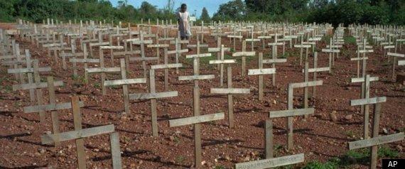 Rwanda Graveyard