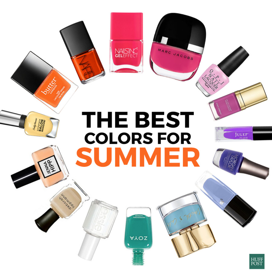 15 Nail Polish Colors For Your Summer Mani And Pedi | HuffPost