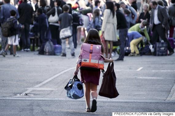 students backpacks