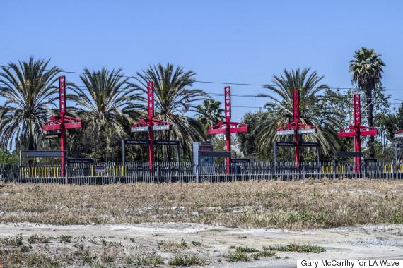 empty lot for wattstar theatre