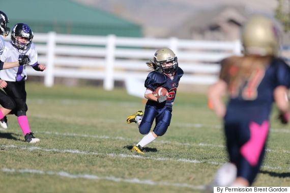There S Going To Be A Tackle Football League For Little Girls In