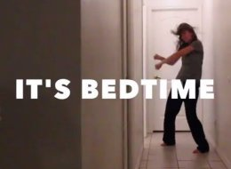 14-Second Video Sums Up Bedtime Perfectly
