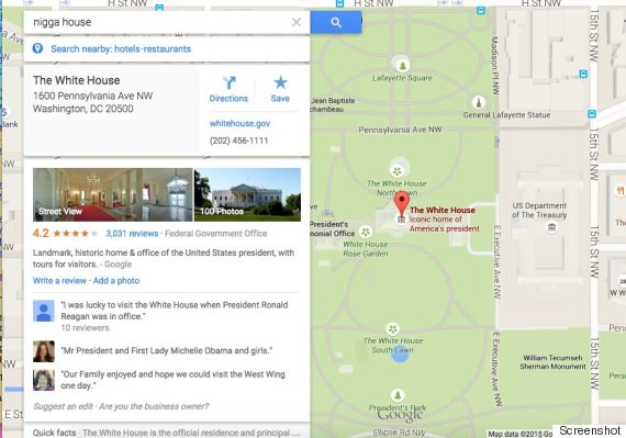 google maps nword house
