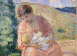 19 Works Of Art That Show The Beauty Of Breastfeeding