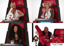 Christina Aguilera Proves She's The Master Of Impressions