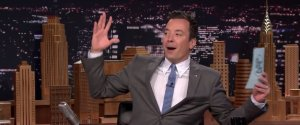 JIMMY FALLON GRADUATING COLLEGE