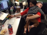 What It Really Means To Be A Working Parent, In 32 Candid Photos