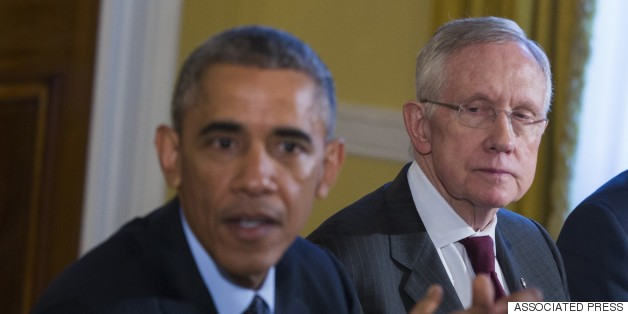 Harry Reid Calls Trade Push By Obama And GOP 'Insanity'