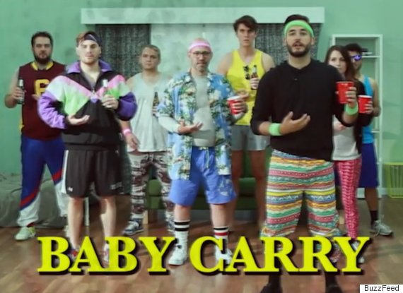 carry baby
