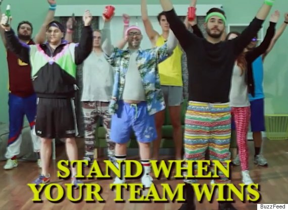 stand up team