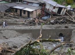 Milagro en Colombia: Rescatan a bebé de entre escombros por avalancha
