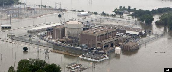 Fort Calhoun Flooding Nuclear Plant Nebraska 2011