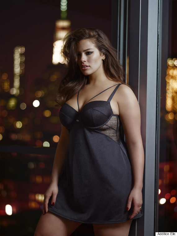 dfdcf61de0 Model Ashley Graham s New Lingerie Line Is Inspired By  Fifty Shades ...