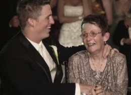 Groom's Compassionate Wedding Dance With His Mom Will Move You To Tears