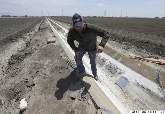 california drought water cuts
