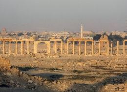 El ISIS trata de rematar lo que dejó en pie en Palmira